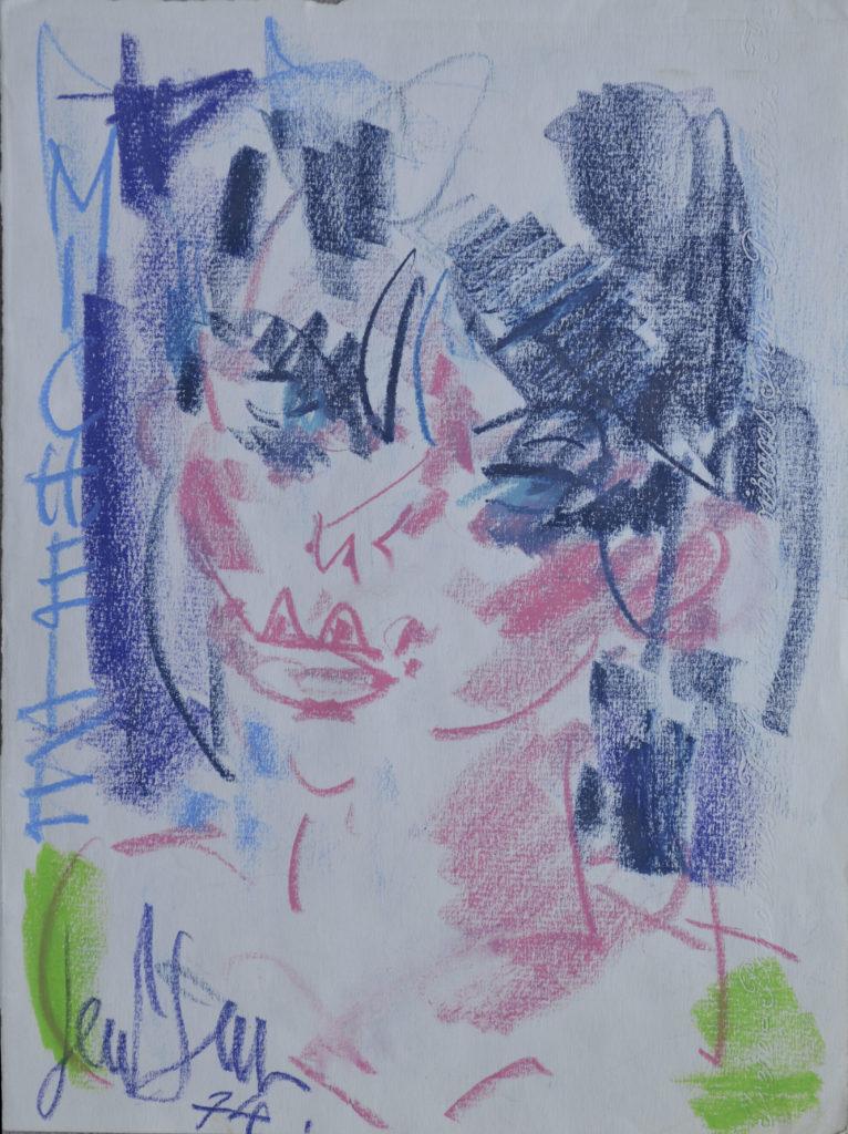 """Gen Paul, """"Portrait de Michèle"""", tableau vendu par la galerie Offenstadt."""