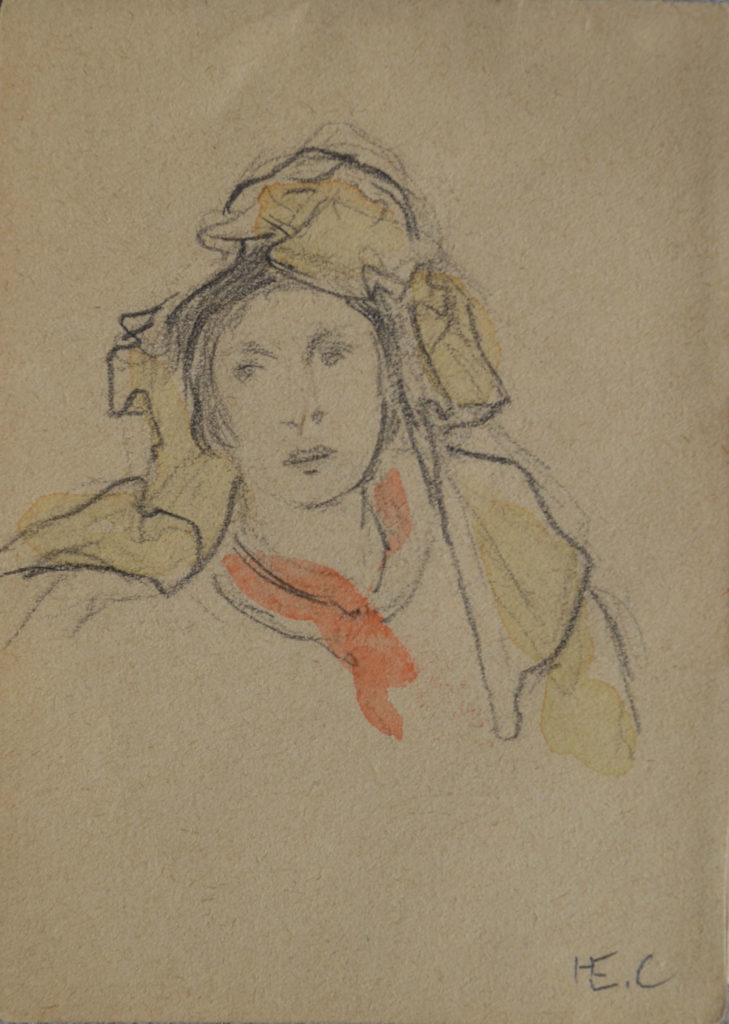 Cross, «Portrait de femme», tableau vendu par la galerie Offenstadt.