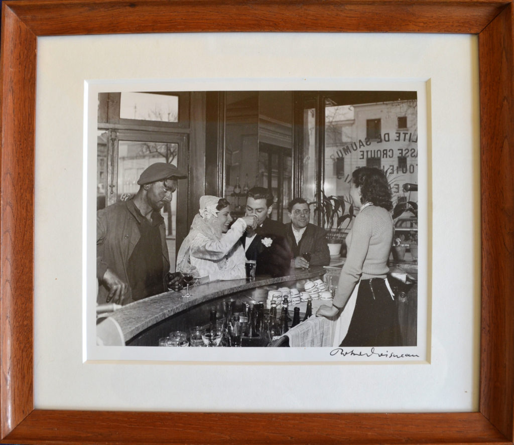 """Doisneau, """"Scène de café"""", tableau vendu par la galerie Offenstadt."""