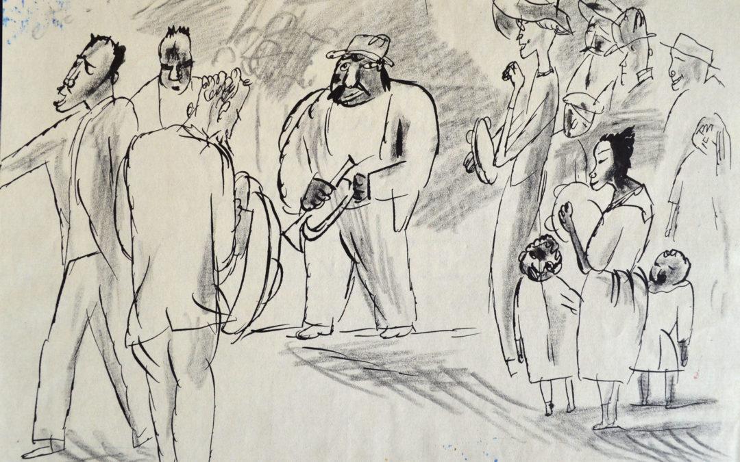 Pascin, «Scène à La Havane»
